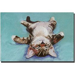@Overstock - Artist: Pat Saunders Title: Little Napper Product Type: Ready-to-hang gallery-wrapped canvashttp://www.overstock.com/Home-Garden/Pat-Saunders-Little-Napper-Gallery-wrapped-Canvas-Art/4703205/product.html?CID=214117 $63.99