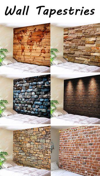 Muros forrados con piedra