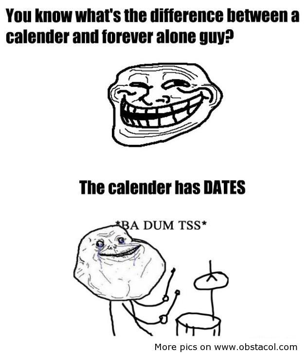 Forever alone dating