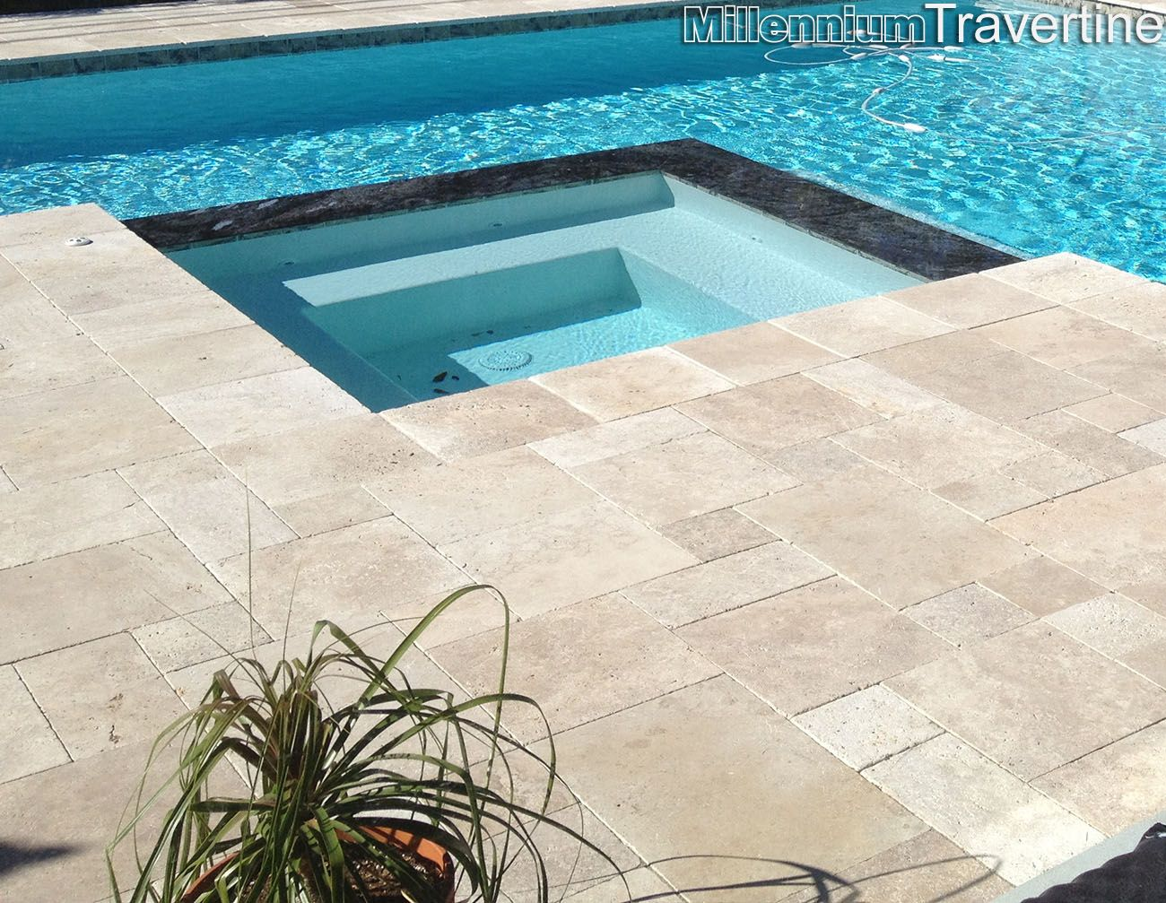 noce french pattern tumbled travertine pavers | house ideas
