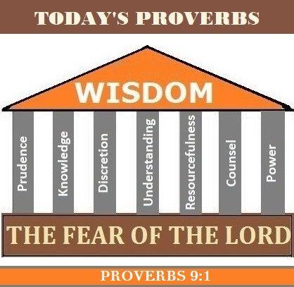 Proverbs 9:1 (NKJV) Wisdom has built her house, She has ...
