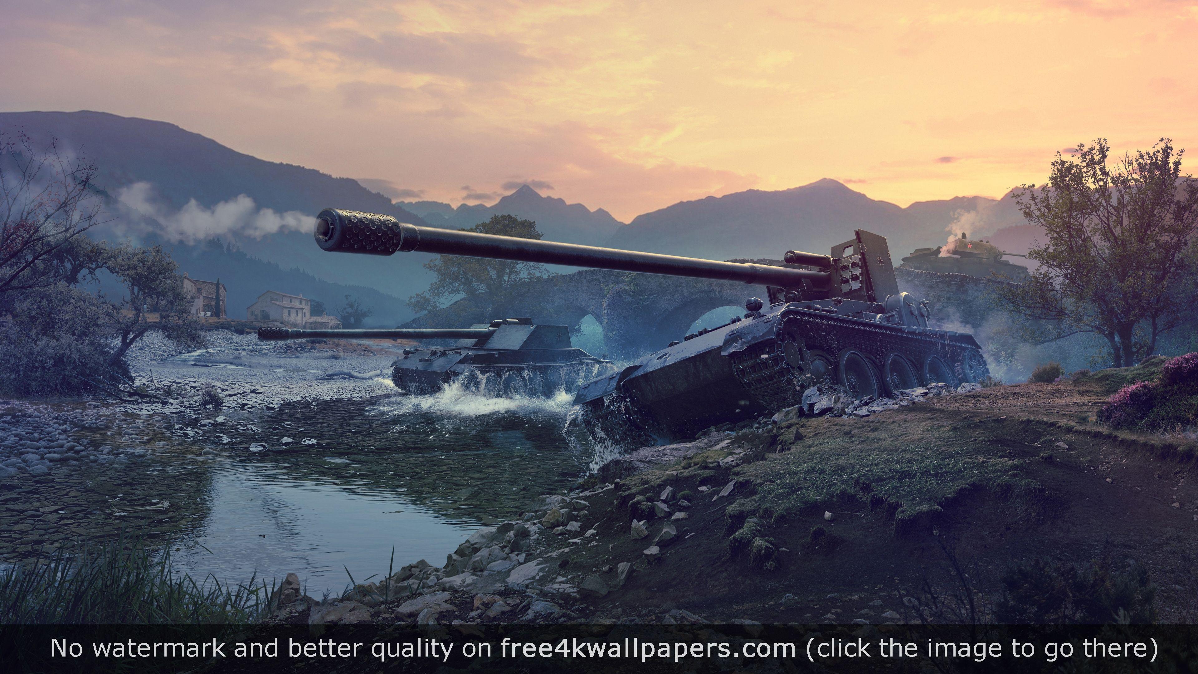 Grille Tank Destroyer World Of Tanks 4k Wallpaper World Of Tanks Tank Wallpaper World Of Tanks Game