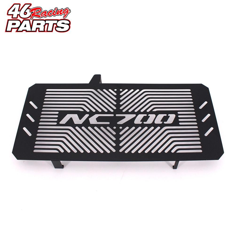 Black Motorcycle Accessories Radiator Guard Protector Grille