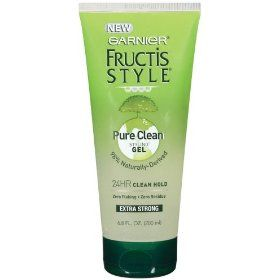 Baby Hair Styling Products Garnier Fructis Style Pure Clean Styling Gel 680Fluid Ounce