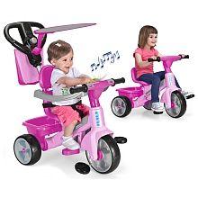 Feber Baby Plus Music Rosa Triciclo