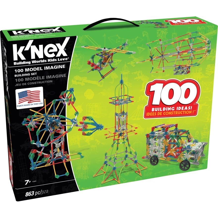 K'NEX 100 Model Building Set Smyths Toys Model