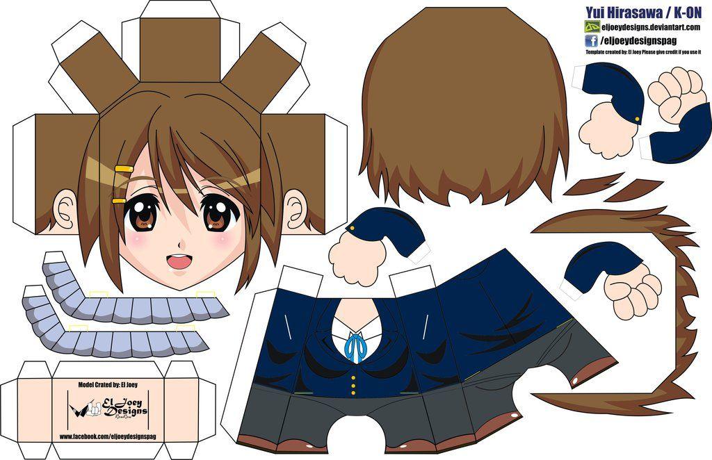 Mio Akiyama AniPapers by ELJOEYDESIGNS on DeviantArt | Papercraft ...