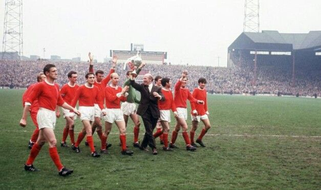 Manchester United Football Club 1967 First Division Champions Manchester United George Best Bobby Charlton