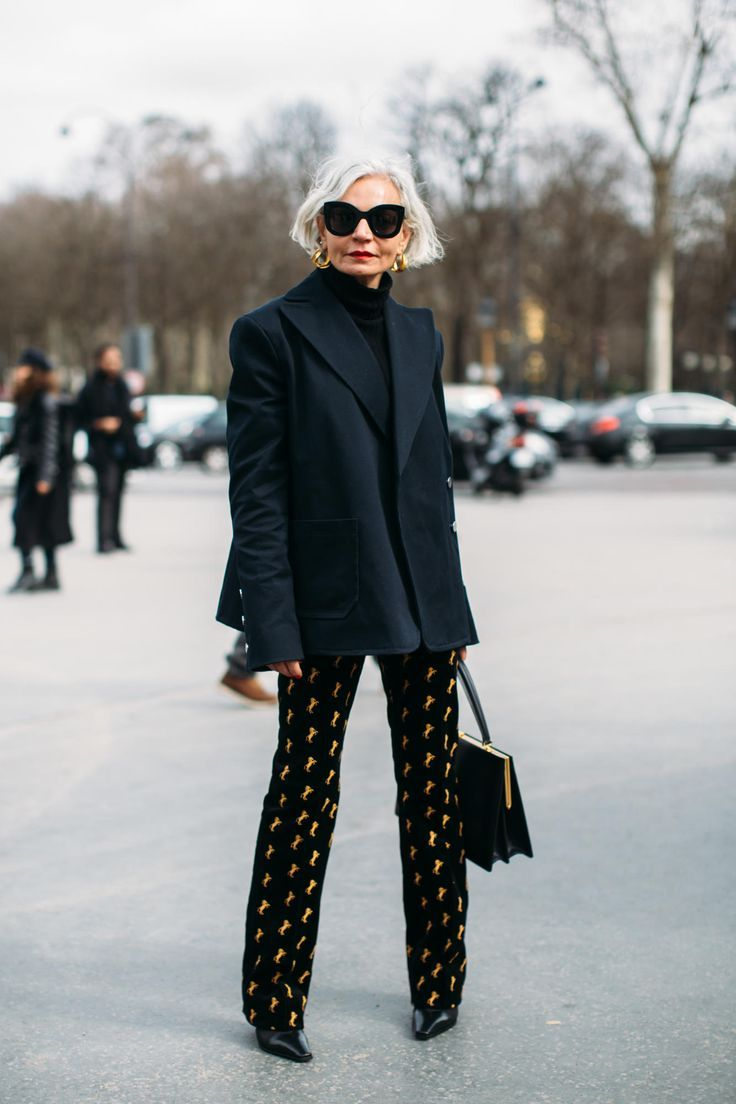 11 Best Streetstyle Looks By Women Over 40 Featuring: The 51 Best Street Style Looks From Fall 2018 Fashion