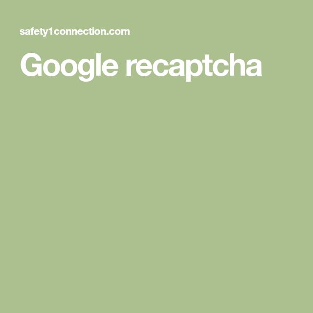 Photo of Google recaptcha