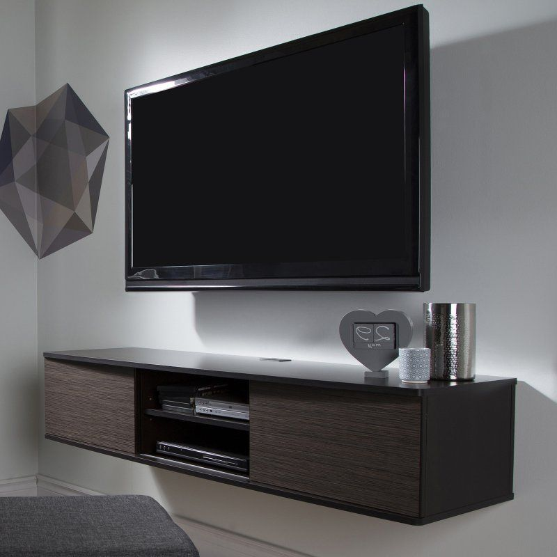 South S Agora 57 In Wall Mounted Media Console 9030676