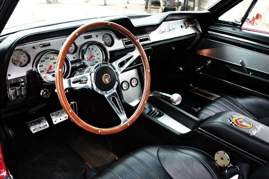 Interior Of The 1967 Shelby Gt500cr By Creative Recreations