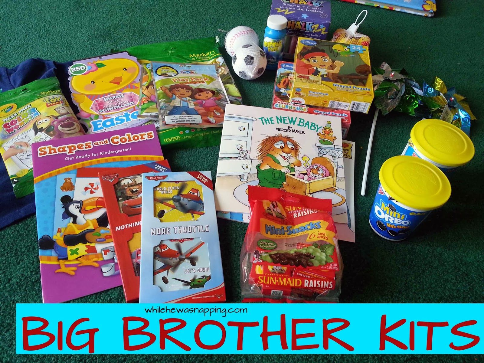Baby Gifts For Big Brother : Big sibling kits from the baby brother kit and