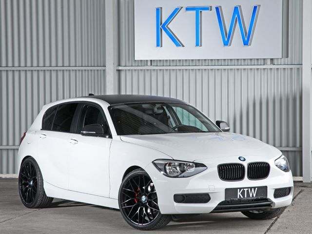 Black And White Bmw 1 Series By Ktw Tuning Bmw 1 Series
