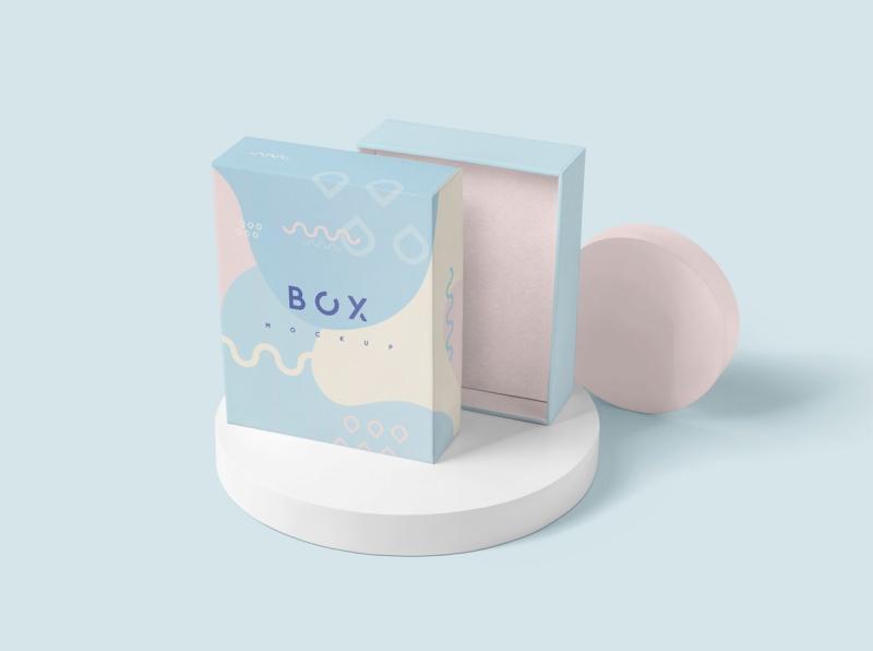 Download Slim Gift Packaging Box Mockups Di 2020