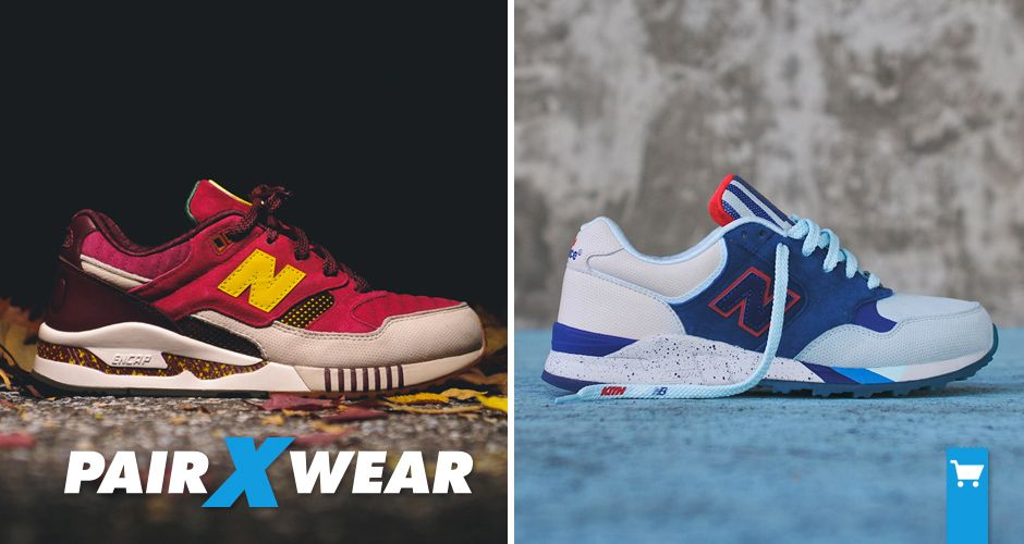 NEW LOOKS FOR THE RONNIE FIEG X NEW BALANCE 530   850  http ... 0ab59dcf50e9