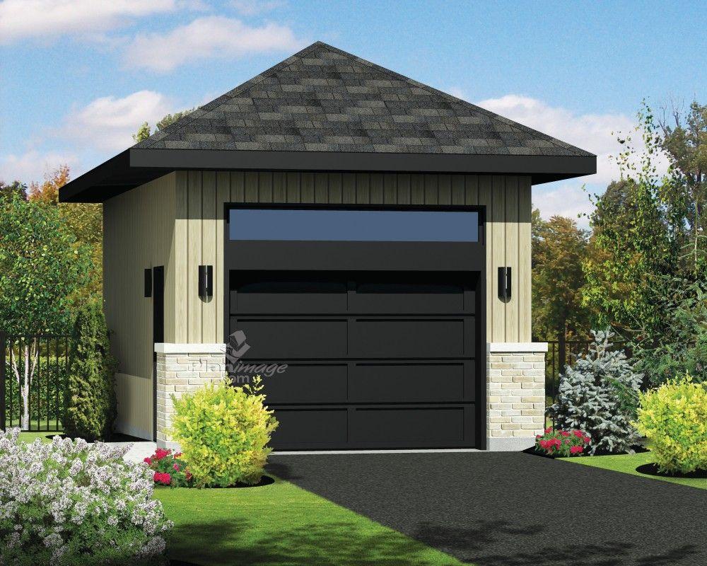 ce garage de style r solument urbain ne pourra que rehausser l apparence de votre maison il. Black Bedroom Furniture Sets. Home Design Ideas