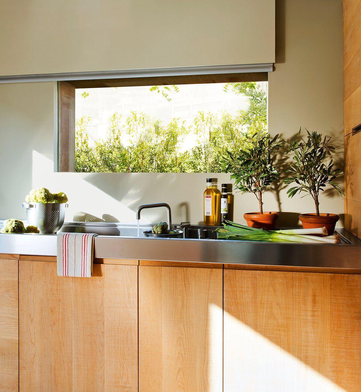 Abierta y c lida una cocina con alma de roble elmueble cocinas cocinas y ba os roble - Cocina con alma ...