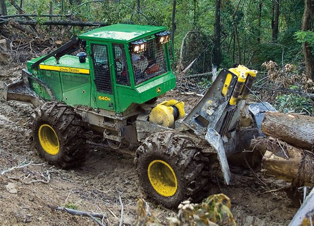 640h Cable Skidder