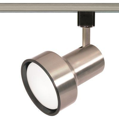 Nuvo TH3 Track Light Head Brushed Nickel - TH357