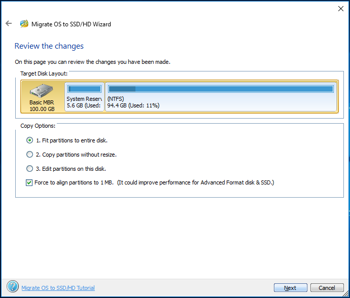 how migrate windows 10 to ssd