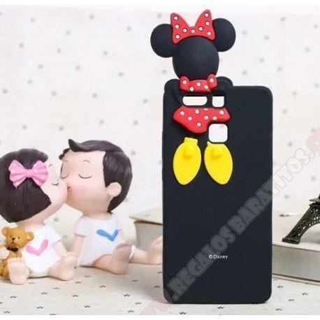 Divertida Carcasa 3d Silicona Diseno Minnie Para Huawei Acsend P9