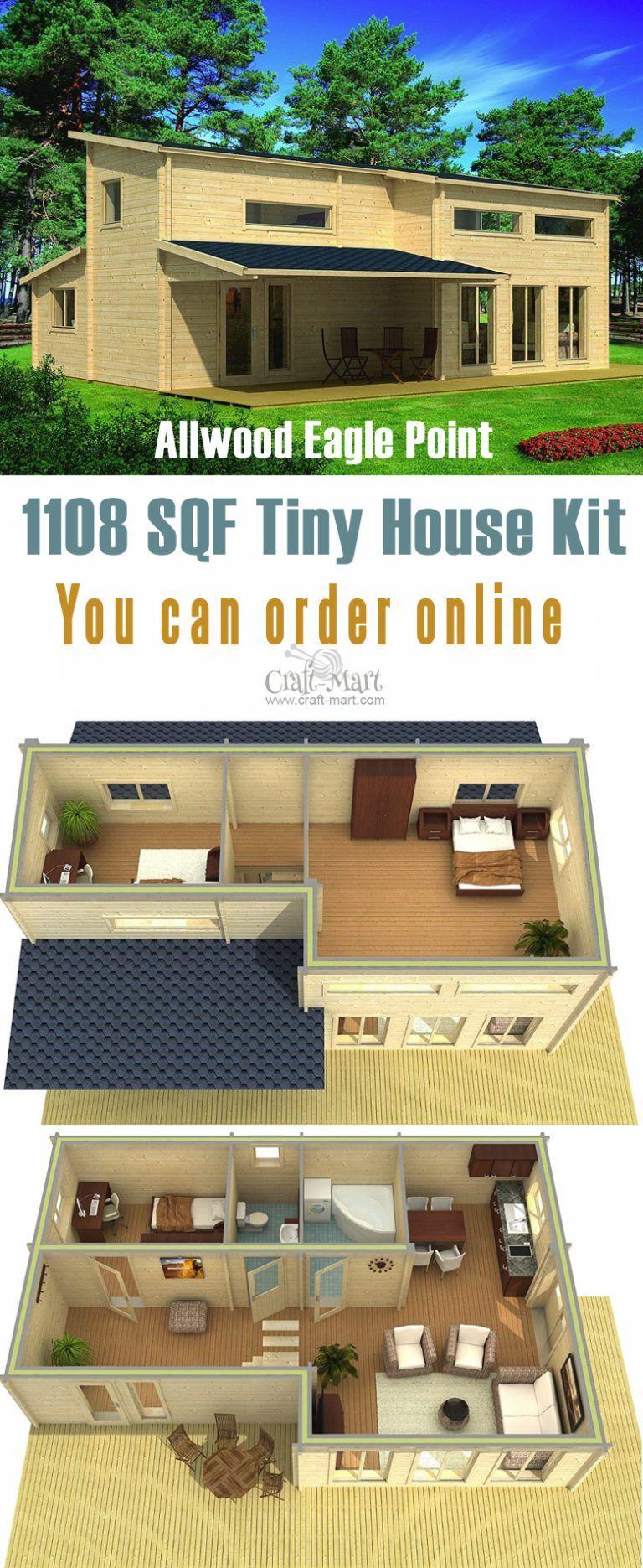 Prefab Tiny Houses You Can Order Online Right Now Planos De Casas Casas Pequenas Vivir En Casa Pequena