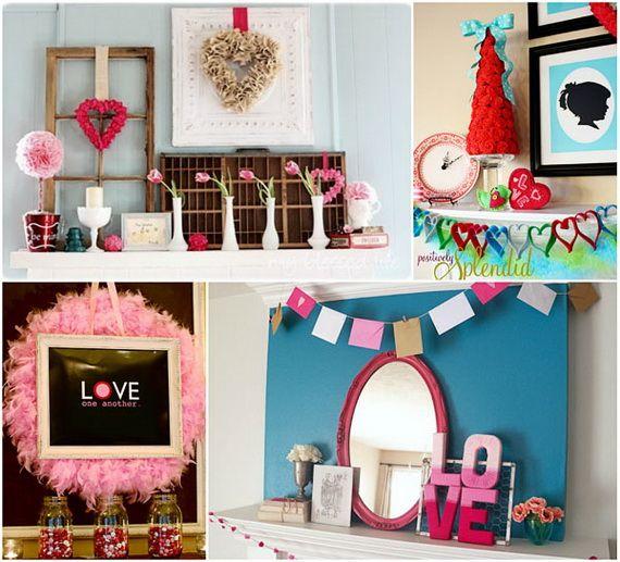 Elegant Gorgeous Valentineu0027s Day Mantel Décor Ideas Good Ideas