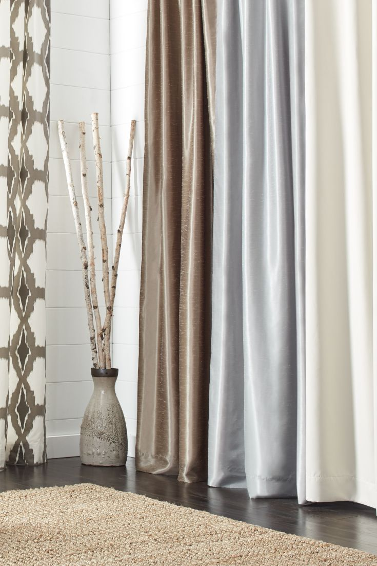 The Best Types Of Fabric Curtains For Your Home Overstock Com In 2020 Cool Curtains Curtains Curtain Fabric