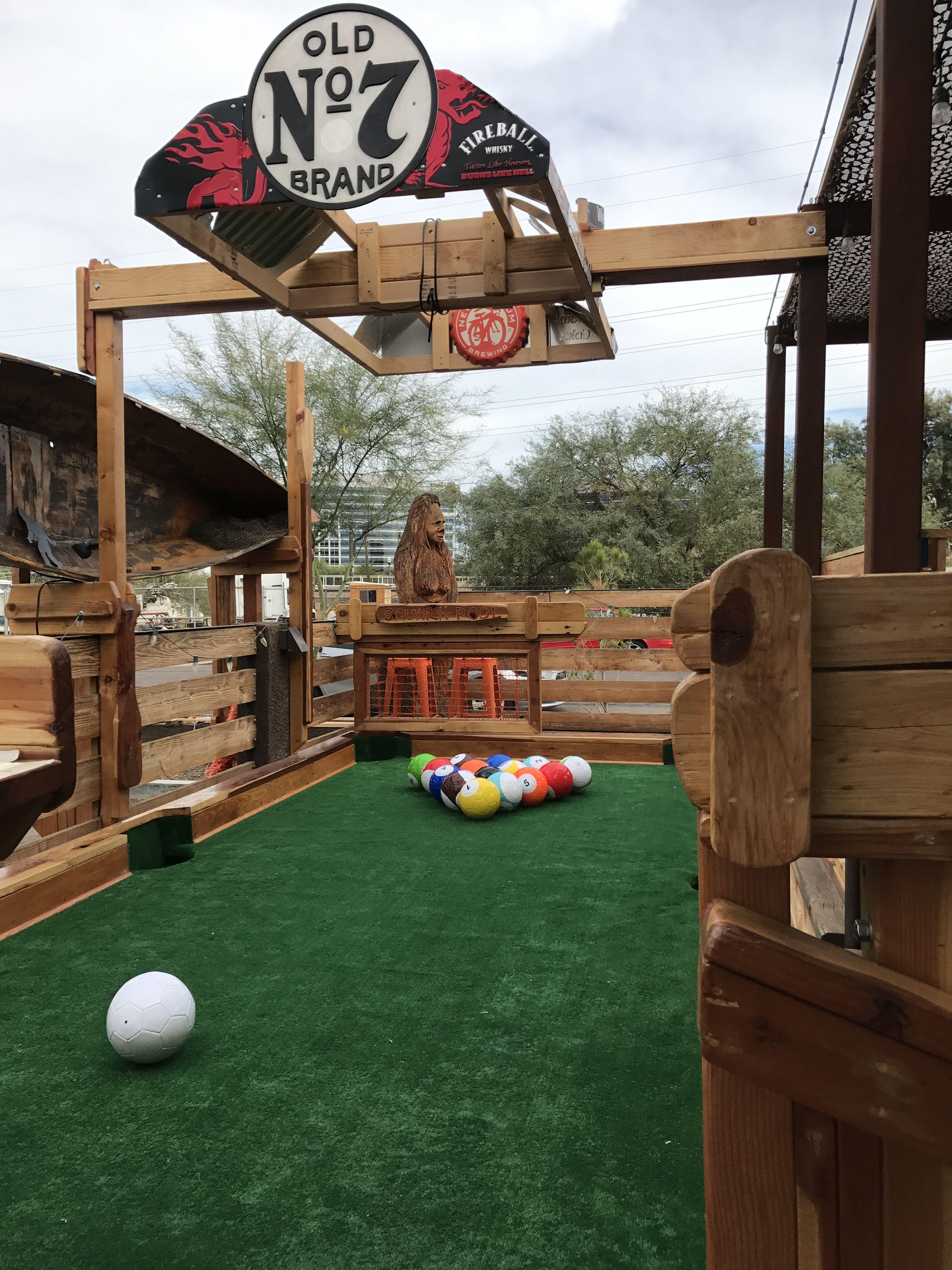 Squatch Pool, SnookBall, Game at The Lodge Sasquatch