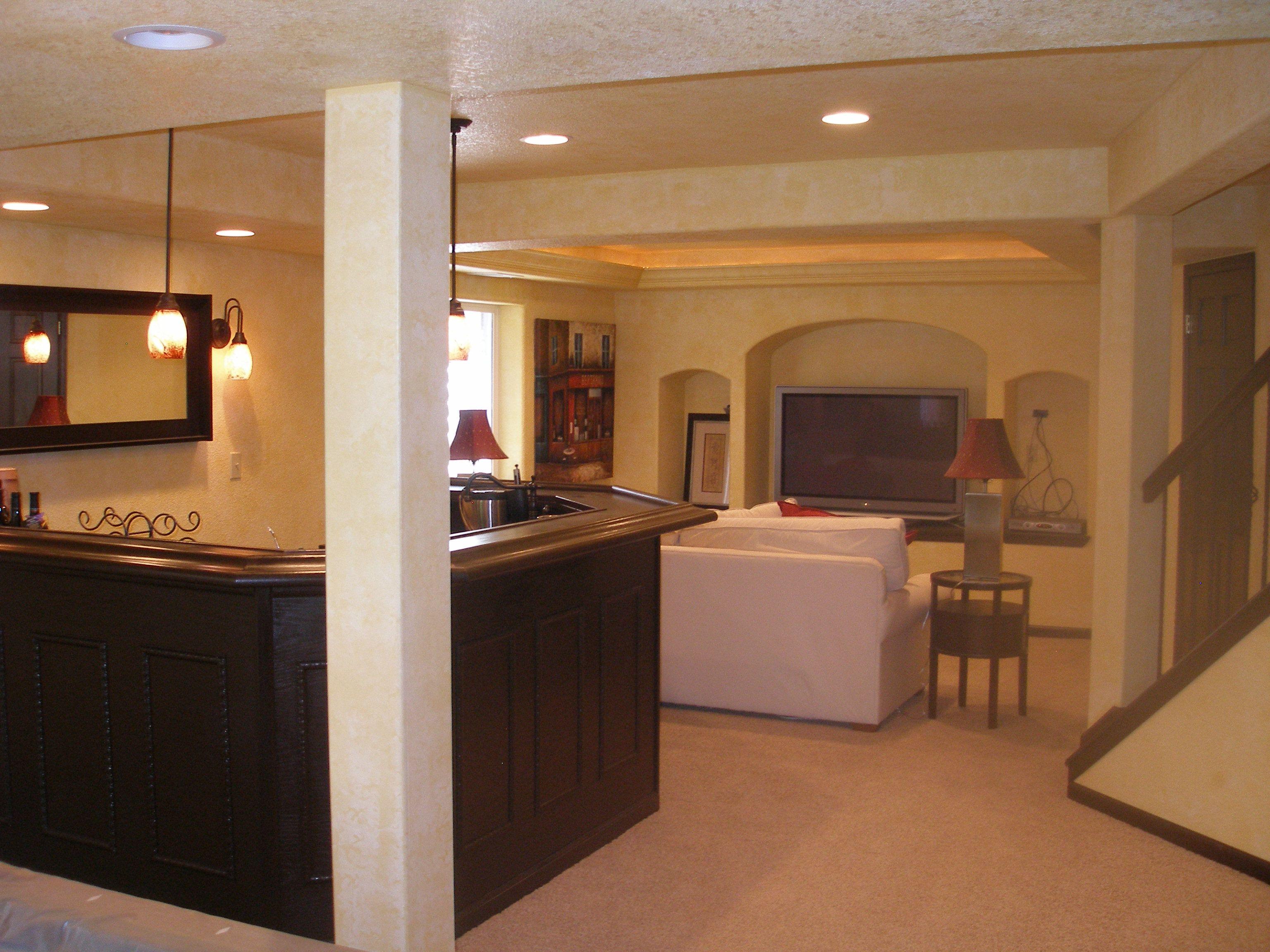 finish basement images | Basement Finishing Contractors in ...
