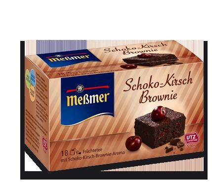 Schoko-Kirsch Brownie