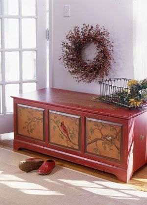 pictures of painted hope chests   hope chest painted   I NEED MORE ...