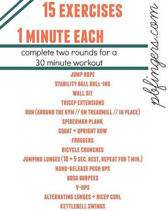 Cardio Circuit And Boot Camp Ideas For Home Workout