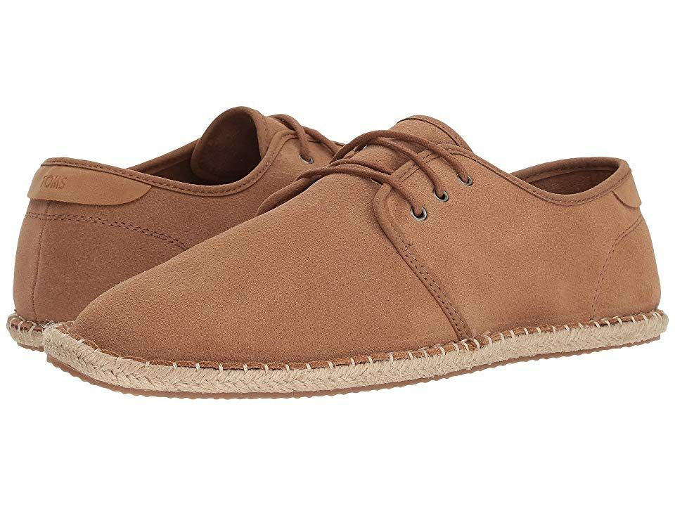 TOMS Diego Toffee Suede Mens Lace up casual Shoes With every pair of shoes you purchase TOMS will give a new pair of shoes to a child in need One for One Head out to your...