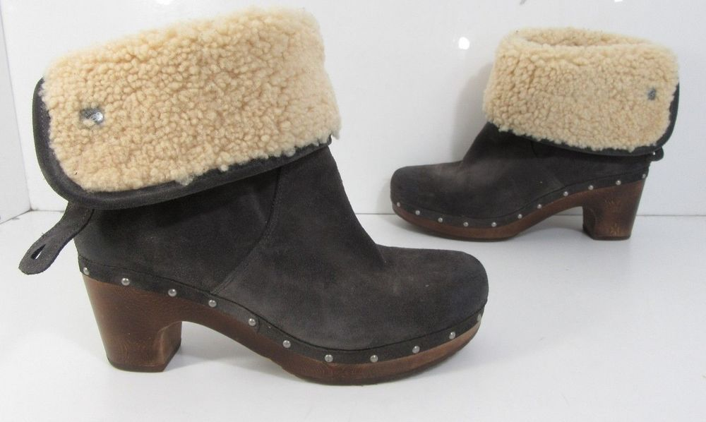 fb9e025e186a5 ICYMI  Women s UGG Australia Lynnea Ankle Boot Gray Size 8 M   29.99 End  Date  Sunday Sep-23-2018 10 47 56 PDT Buy It Now for only   29.99…