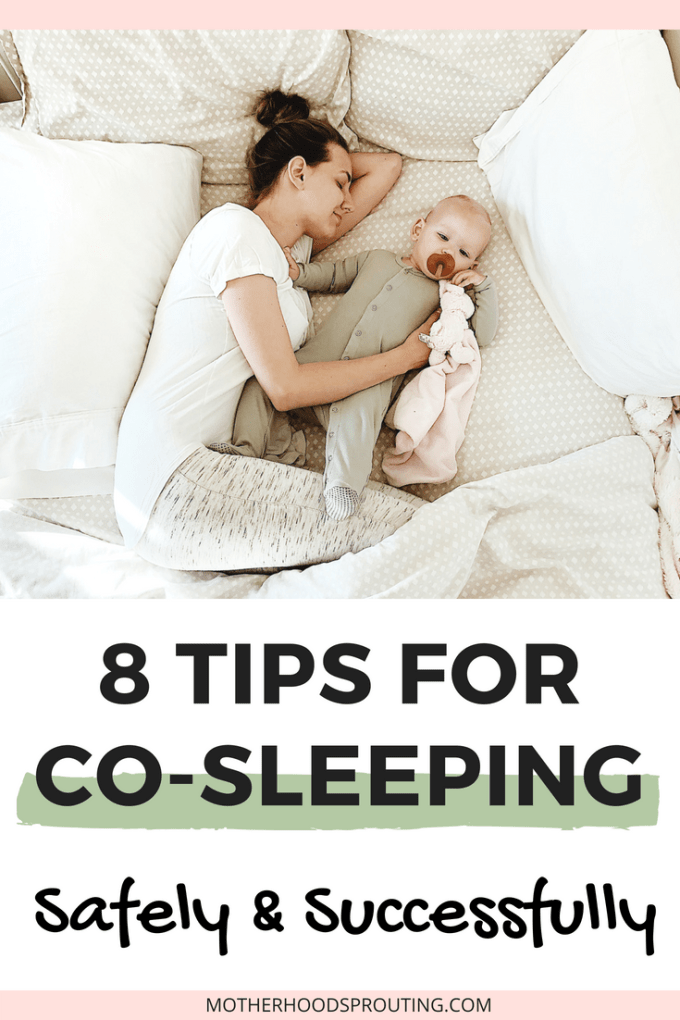 Learn how to cosleep safely with newborns, infants, and