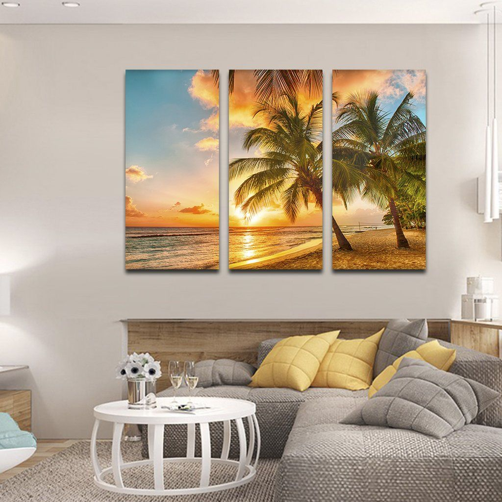 Barbados island multi panel canvas wall art decorating pinterest