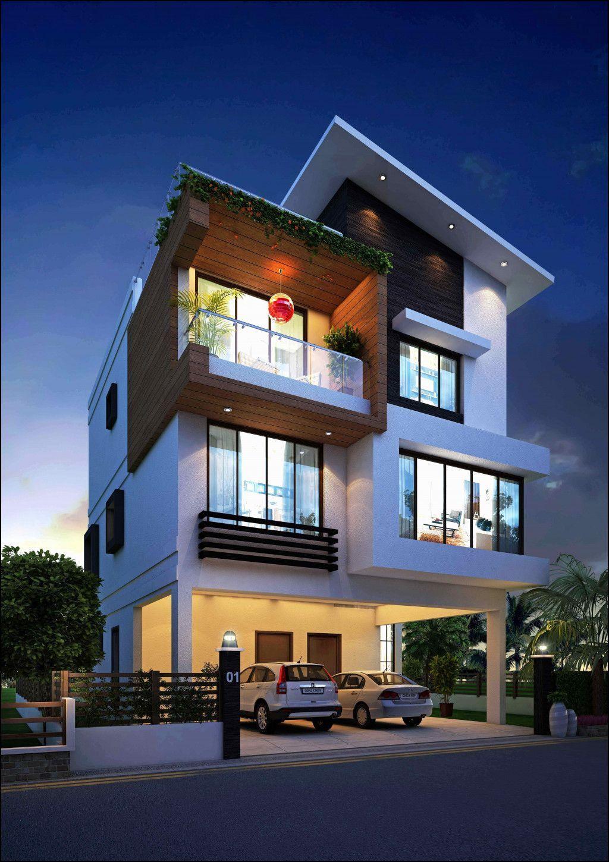 How Much Does It Cost To Build A Modern House 2021 Desain Rumah Eksterior House Blueprints Tata Letak Rumah