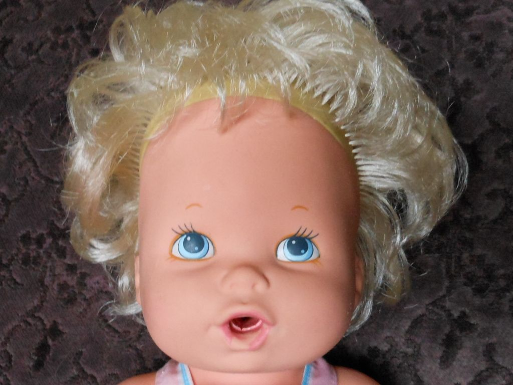 "1990 Kenner ""Baby Alive"" 1990's dolls Pinterest"