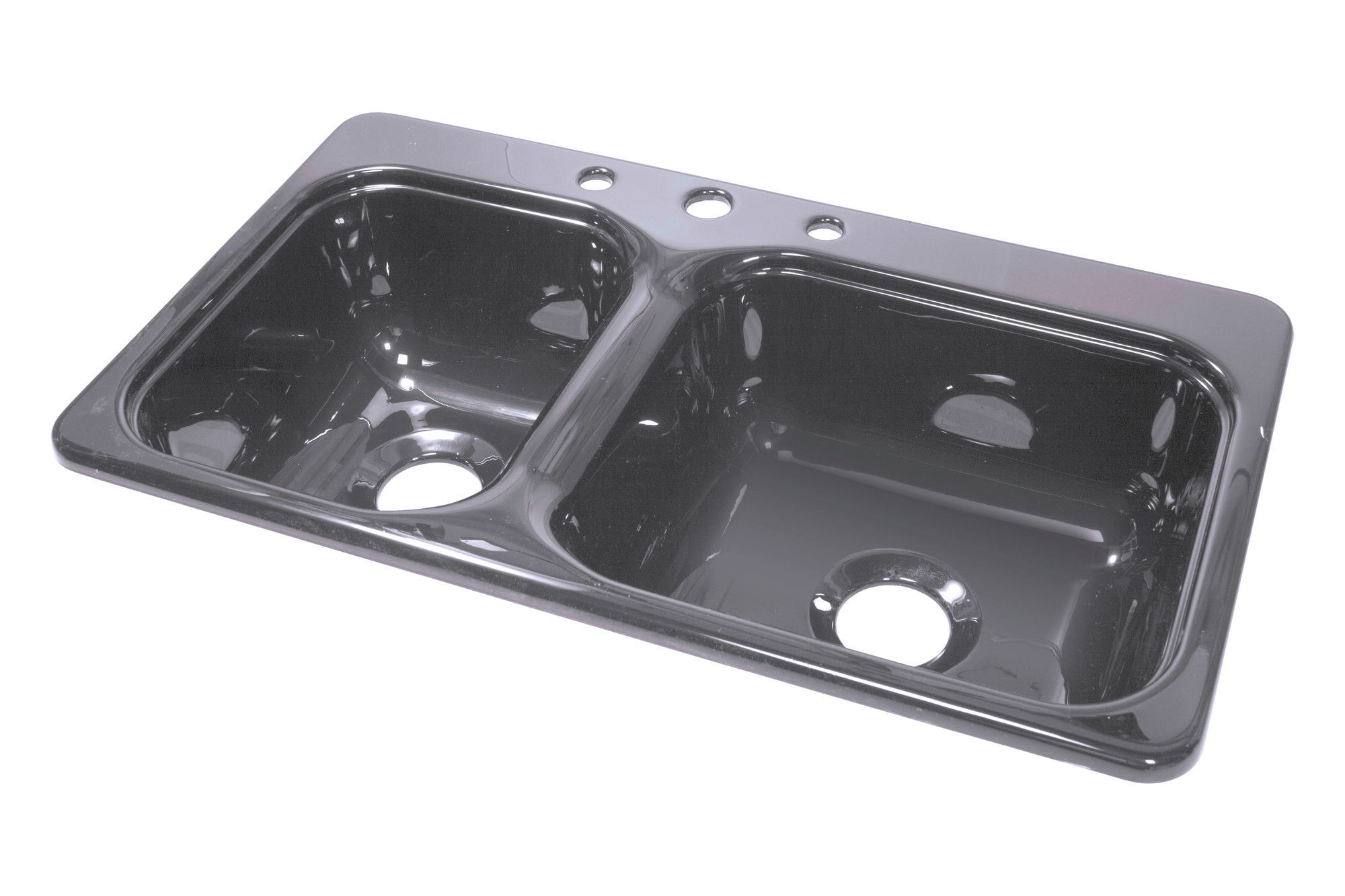 lyons industries dks manufactured mobile home acrylic kitchen sink with step down ledge deluxe 33   x 19   x 8   kitchen sink   products   pinterest   products  rh   pinterest com
