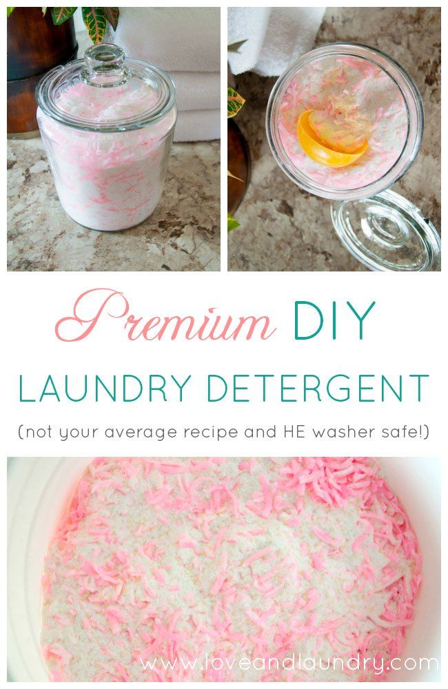 Premium Homemade Laundry Detergent Recipe Homemade Laundry
