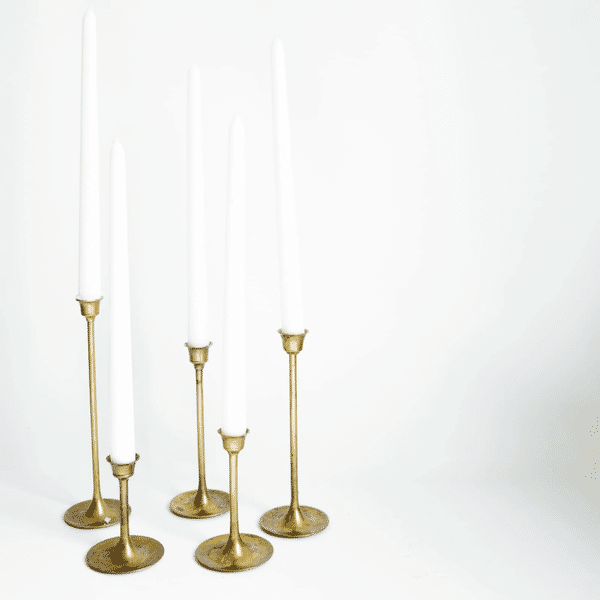 Modern Brass Candlesticks Loot Rentals Brass Candlesticks Candlesticks Vintage Brass Candlesticks