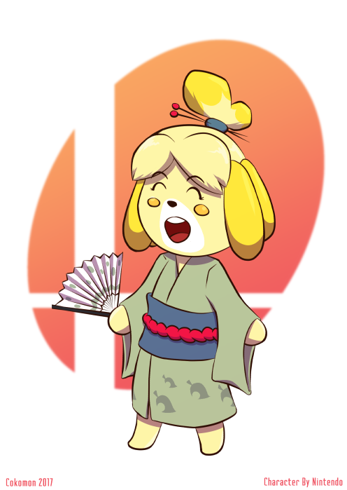 Christmas Isabelle. Animal crossing, Art, Animals