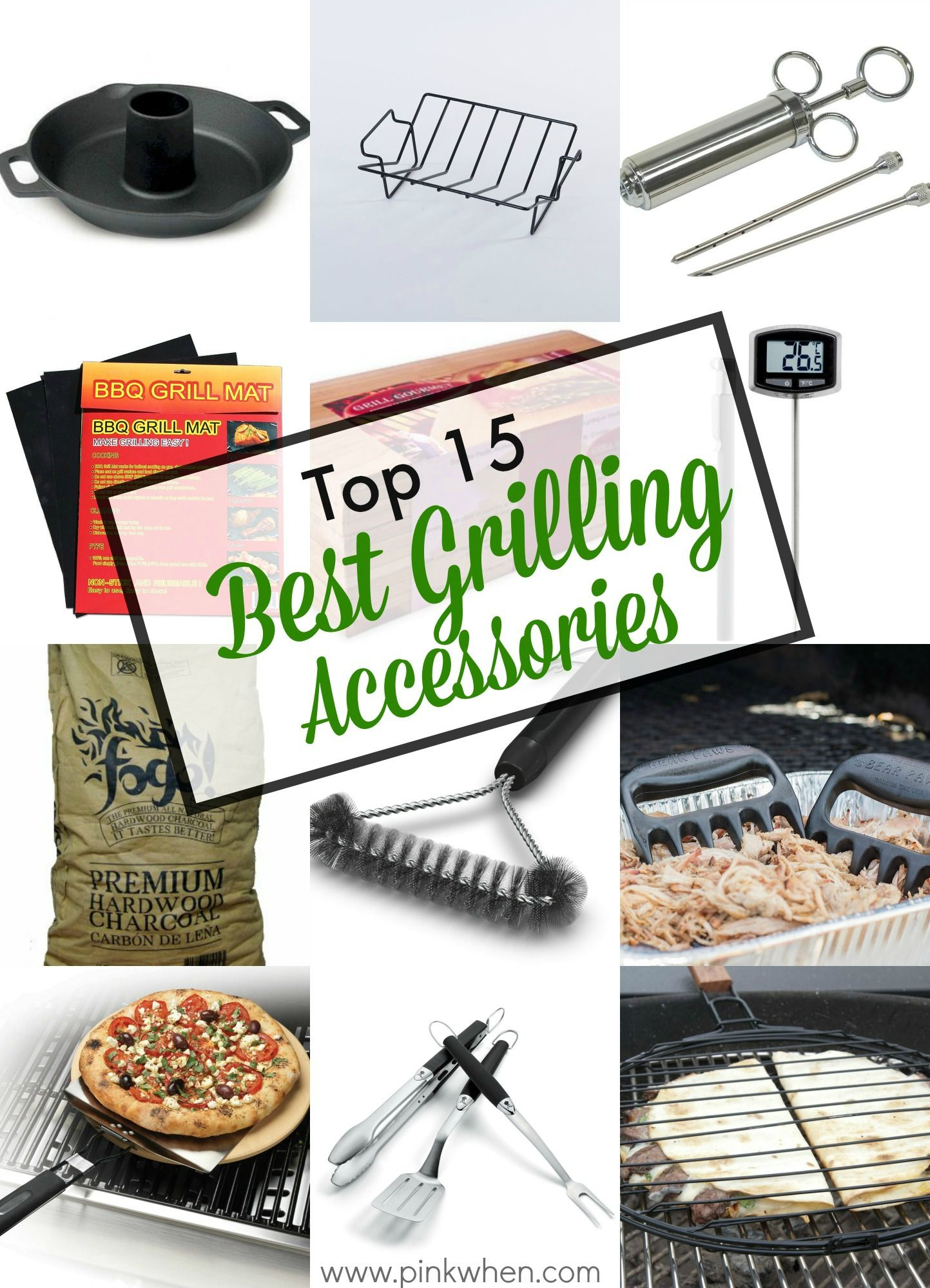 Top 8 Best Grill Accessories  Grilling gifts, Grill accessories