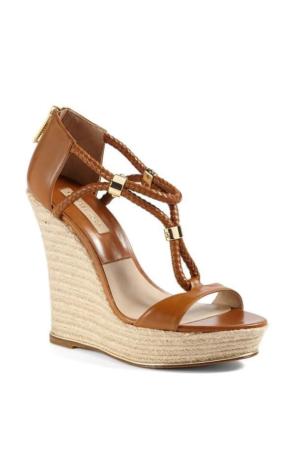 Michael Kors Sherie  Wedge Sandal: Love it #fashion #inspiration #trend #fall #winter #summer #spring #pantone #frühjahr #sommer #herbst #style #outfit #ootd #filizity
