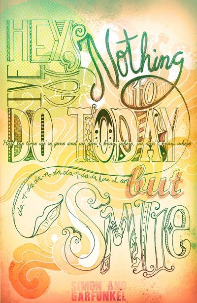 simon & garfunkel Words on canvas, Artist quotes, Simon