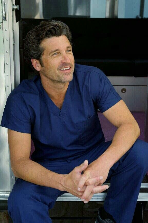 Greys anatomy 30 day challenge. Day 9. Fave actor. Patrick Dempsey ...