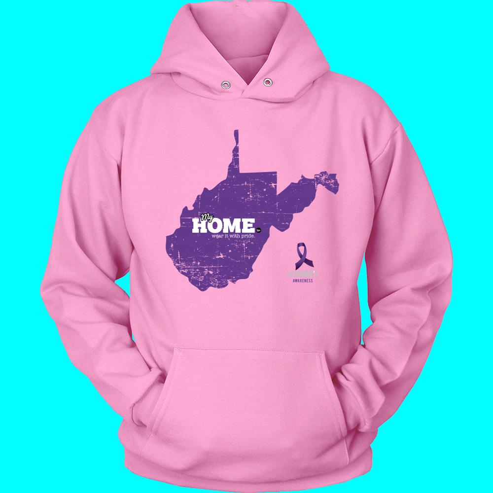 West Virginia - Alzheimer's Support Hoodie