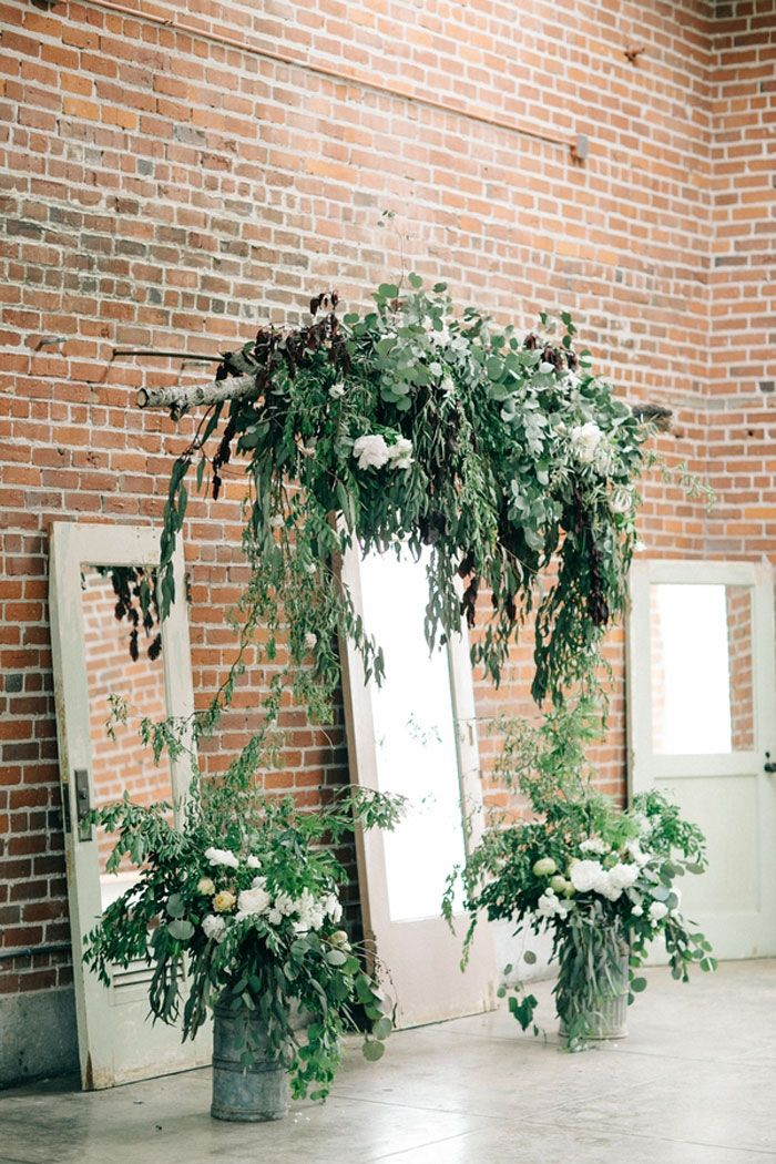 Sacramento Industrial Chic Wedding Decor Ideas24 Wedding